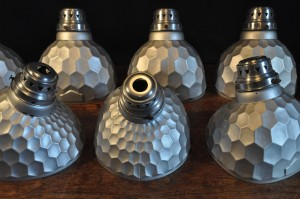 SILVERED GLASS SHADES (20) FM