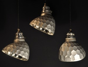 SILVERED GLASS SHADES (61)CR FM