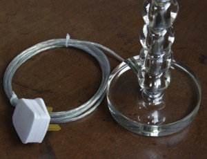 STACKED GLASS BALL LIGHT (9)